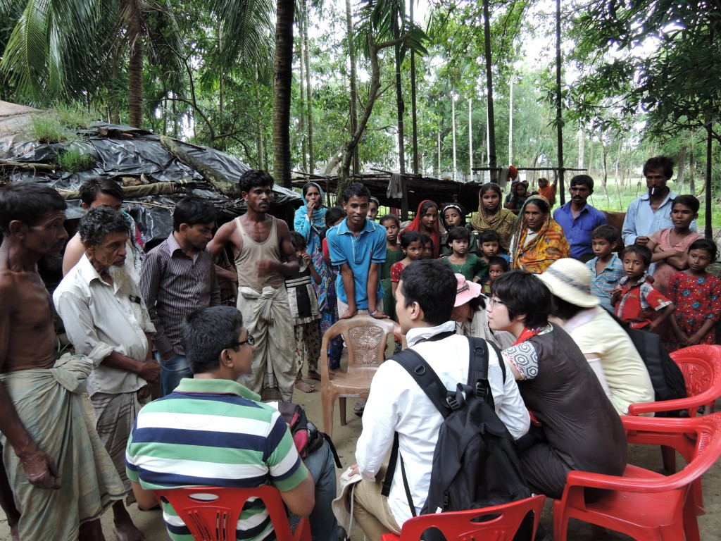 Village Meeting in Bangladeshi