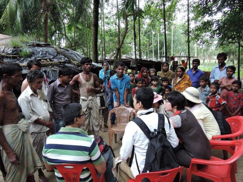 Village Meeting in Bangladeshi